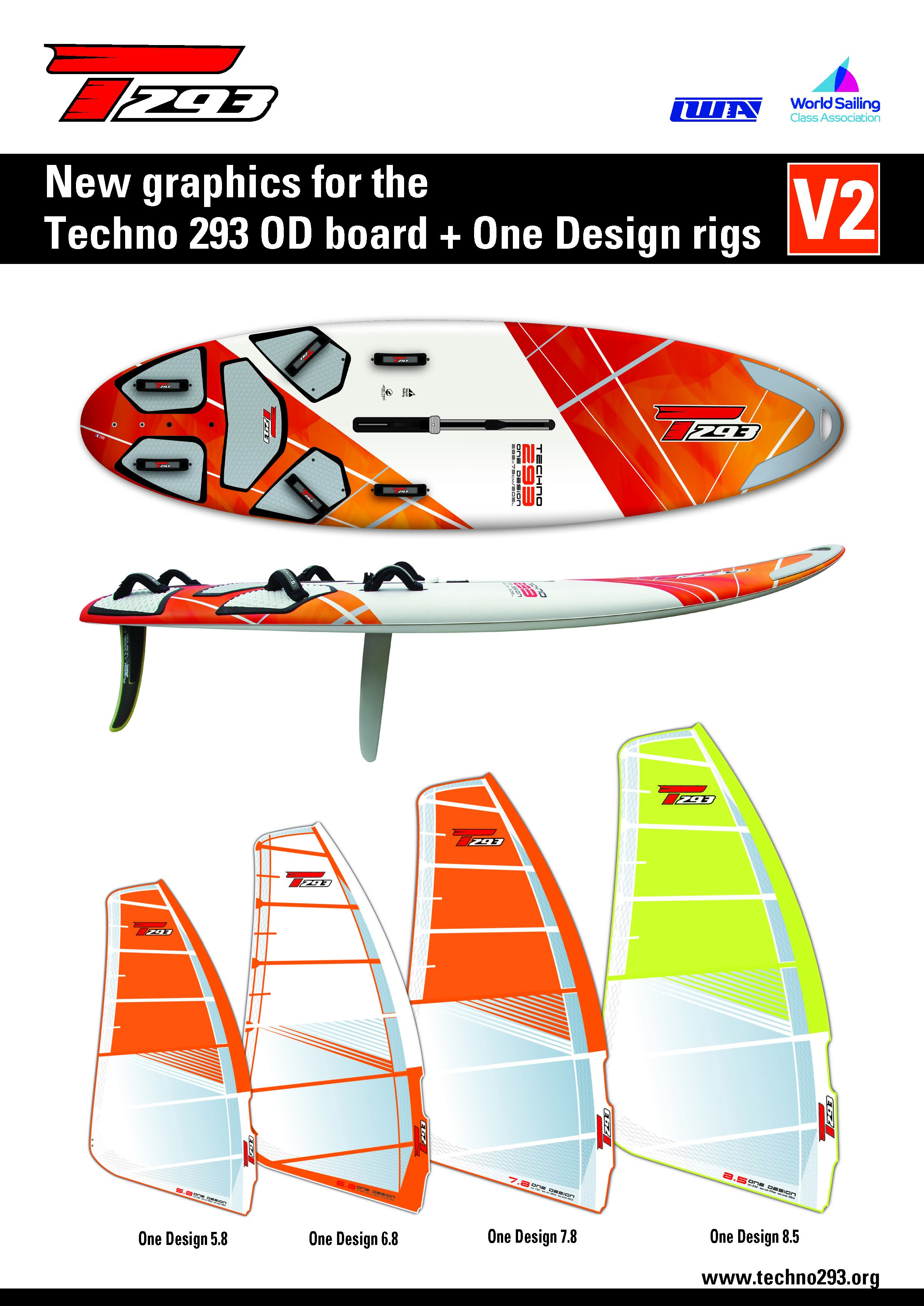 Bic Sport  Techno 293 One Design  Sailaway ile Türkiye'de